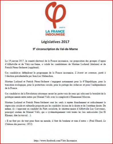 communiqué de presse candidatures aux législatives 9ème val de Marne.JPG